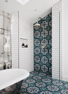 Victorian Dream Bathroom diy dream house Get This Look: 9 Beautiful Bathroom Design Trends We're Swooning Over Bad Inspiration, Bathroom Inspiration, Bathroom Ideas, Shower Bathroom, Shower Tiles, Bathroom Remodeling, Bathroom Wall, Shower Floor, Remodeling Ideas