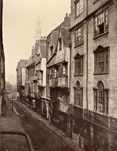 18th Century London Streets Demolished