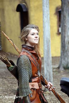 Actually, LARPing tends to have realistic female armor ...