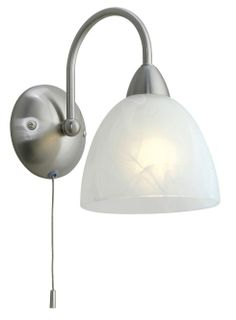 Dionis Single Wall Light from EGLO lighting also available as a 5 light ceiling pendant and a table lamp. Full range available from Luxury Lighting online or lighting showroom in Kent.