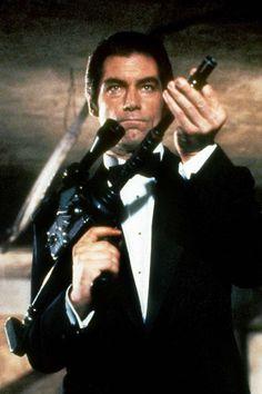 LICENSE TO KILL- Timothy Dalton as James Bond.