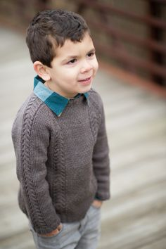 Knitting Patterns Boy New Pattern: Winter Cocoa — Knittin& Little Baby Boy Knitting, Knitting For Kids, Crochet For Kids, Knit Crochet, Boys Knitting Patterns Free, Sweater Knitting Patterns, Knit Patterns, Toddler Sweater, Boys Sweaters