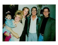 Vintage-photo-of-Dean-Martin-with-family. Ricci (with glasses) and Alex (Dean Paul's son) on either side of Dean.