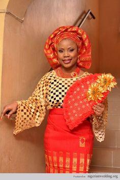 Glamorous Yoruba Brides And Their Lovely Attires