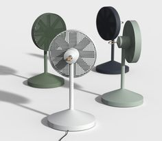An inventive concept design allows this app-controlled electric fan to disassemble and stow away into a compact form for easy storage. Casa Muji, Design Industrial, Industrial Interiors, Desk Fan, Electric Fan, Yanko Design, Poster S, Design Furniture, Stow Away