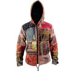 chaquetas hombre algodon hippiesa
