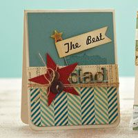 Best Dad Card by @Betsy Veldman: Idea from http://www.papercraftsmag.com/articles/Best_Dad_Card?bc=c