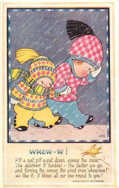 Vintage postcard - Chloe Preston. WHEW-W! - TuckDB