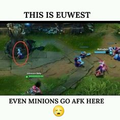 Yeah, these bad minions! :D  #leagueoflegends  #afk #euwest