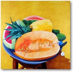 Ana Mercedes Hoyos Porcelana al medio día Adult Art Classes, Colombian Art, South American Art, Exotic Fruit, Still Life, Art Projects, Contemporary Art, Illustration Art, Sculpture