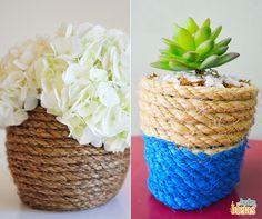 Com apenas 3 materiais você consegue renovar os vasos de suas plantas! Duvida? Então corre para o blog e aprenda esse passo-a-passo superfácil: ow.ly/4nmMqe