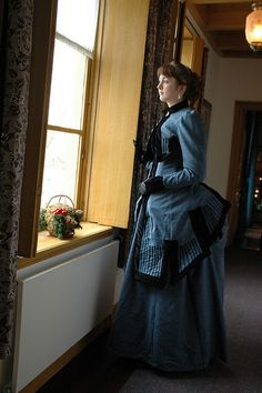 Victorian bustle dress by Wel-mode, via Flickr