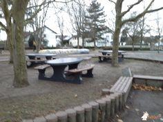 Picknickset DeLuxe Antraciet Ovaal bij Grundschule in Karlsdorf-Neuthard