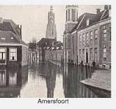 Tijdens de Zuiderzeevloed stond het water ook in Amersfoort.