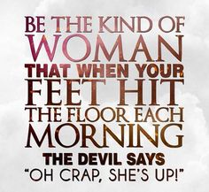Are you searching for inspiration for good morning quotes?Browse around this website for unique good morning quotes inspiration. These amuzing pictures will make you enjoy. Life Quotes Love, Woman Quotes, Great Quotes, Quotes To Live By, Me Quotes, Motivational Quotes, Inspirational Quotes, Godly Quotes, Strong Quotes