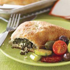 Mediterranean Spinach Pies Recipe | MyRecipes.com