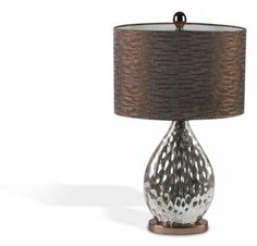 Illuminate late afternoons and cozy evenings with this beautifully crafted table lamp, the perfect finishing touch to your den, study, or master suite décor. Copper Table Lamp, Light Art, Joss And Main, Home Lighting, Light Fixtures, Home Accessories, Home Furniture, Lights, Master Suite