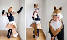 Fox PATTERN DIY costume girl sewing tutorial by ImaginaryTail