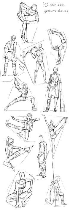gesture_sketches_0001 by ksenolog.deviantart.com