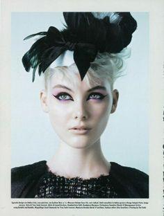 Charlotte Benson by Michelangelo di Battista for Vogue Italia November 2010 1
