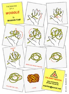 Woggles: 28th Cambridge Scouts