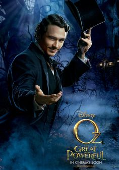 "The Gang's All Here In Four New ""Oz: The Great And Powerful"" Posters"