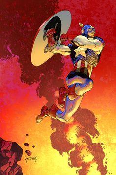 Capt color commission by SpicerColor.deviantart.com on @deviantART