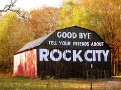 """Goodbye...Tell Your Friends... by SeeMidTN.com ~ might be the only barn that does not say, """"See Rock City""""."""