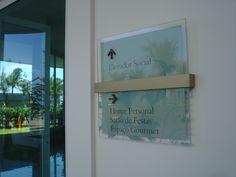 #Wayfinding - #Directional sign - #Les Résidences de Monaco - Recreio (RJ) - Brazil # Brazilian design