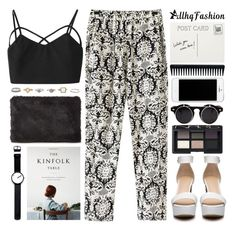 """allhqfashion (4)"" by tmizzle ❤ liked on Polyvore featuring Chicnova Fashion, Whistles, NARS Cosmetics, GHD and Rosendahl"