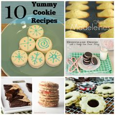 10 Yummy Cookie Recipes - Practical Mommy