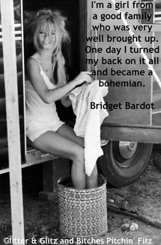 bohemian Bridget Bardot