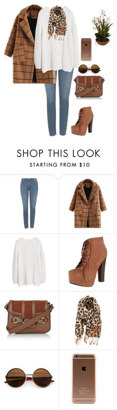 """""""Untitled #304"""" by mrsfreespirit ❤ liked on Polyvore featuring Topshop, Violeta by Mango, Breckelle's and BP."""