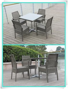 Outdoor furniture fancy weaving glass table top and stainless steel base ,garden furniture rattan dining set, table and chairs, View Outdoor Furniture Garden Dining Set, Shine    Shine Outdoor Rattan Wicker Ding sets From Shine international Group Limitted market4@shininggroups.com Skype: suzen17278630 What's App : +86 13927710930 www.shininggroups.com