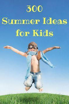 300 Summer Ideas for kids. Summer fun activities for kids of all ages. Pool Activities, Summer Activities For Kids, Educational Activities, Toddler Activities, Outdoor Activities, Summer Fun For Kids, Summer Ideas, Free Summer, Kids Fun