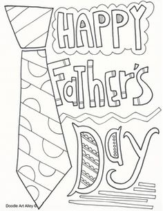 Printable Fathers Day Tie Cards Printables Linky