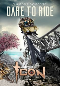 Icon set to launch on 25 May at Blackpool Pleasure Beach Blackpool Pleasure Beach, Riders On The Storm, Roller Coasters, Amusement Park, Dares, Icon Set, Rocks, Product Launch, England