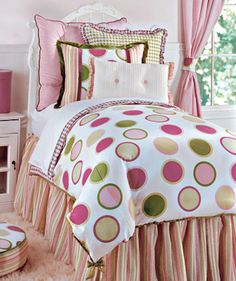 #girls rooms, Chloe Girl's Bedding