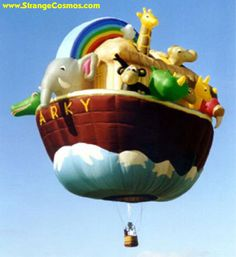 """NOAH'S ARK"" HOT AIR BALLOON"