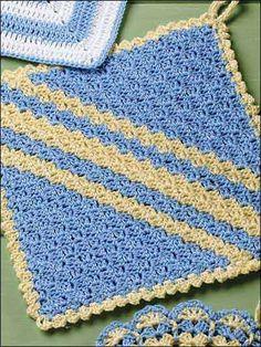 cutecrocs.com crochet potholders (22) #crocheting