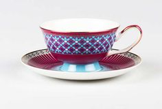 Vibrant Moroccan-Patterned Pottery - The T2 Casbah Teaware Collection Brings Life to the Party (GALLERY)
