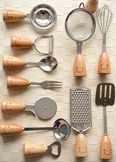 zakka Shuisenhuo memory logs cutlery fork spoon kitchen utensils whisk-ZZKKO