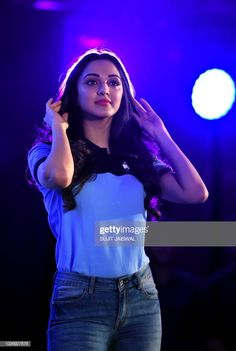 Indian Bollywood actress Kiara Advani attends a promotional event for...