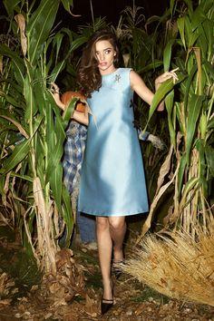 Thriller Fashion: Miranda Kerr Is Hauntingly Chic