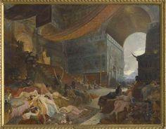 Le Mort de Babylone. 1891. Georges-Antoine Rochegrosse (1859-1938). Paris, private collection.