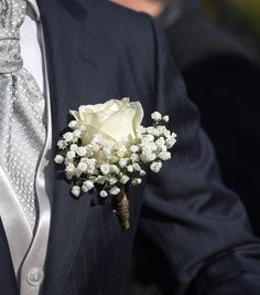 Diy Rose Blanche Akito Et Gypsophile Boutonni Res Mariage Endroits Visiter