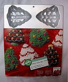 Wilton Cake Pan Mini Christmas Tree 21051779 1984 ** To view further for this item, visit the image link.