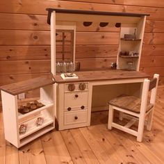 akiさんの、おままごとキッチン,DIY,ハンドメイド,ログハウス,部屋全体,のお部屋写真