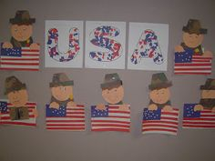 Mrs. T's First Grade Class: Veterans Day