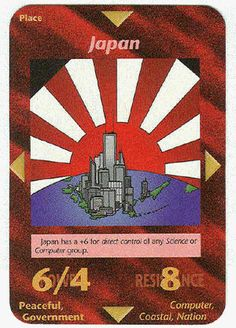 Illuminati Card Game only Published in 1995 - JAPAN